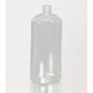 ПЭТ бутылка 1,0 л.  бецветный   (штоф)