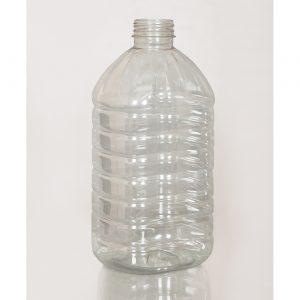 ПЭТ бутылка 4,5 л. 48 мм бесцветная