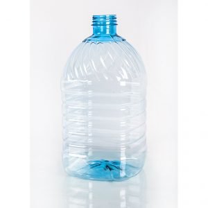 ПЭТ бутылка 3,0 л. 48 мм голубая